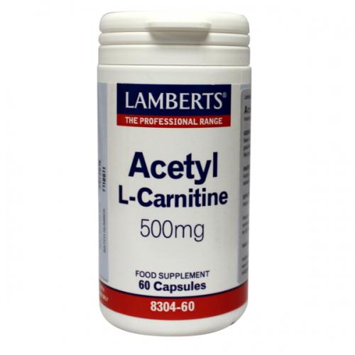 Acetyl – L-Carnitine 500mg