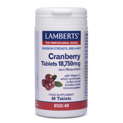 Cranberry tabletten 18.750mg