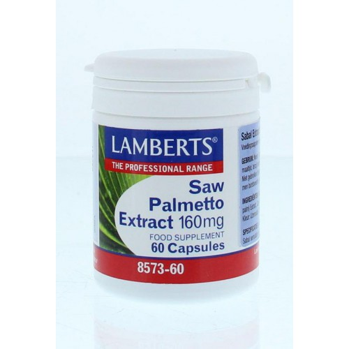 Saw Palmetto Extract 160mg - 60c.